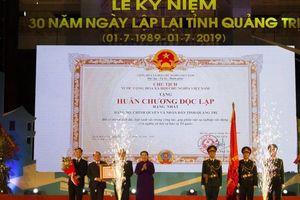 Long trọng lễ kỷ niệm 30 năm ngày lập lại tỉnh Quảng Trị