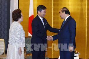 Thủ tướng Nguyễn Xuân Phúc tiếp một số nhà đầu tư Nhật Bản kinh doanh tại Việt Nam
