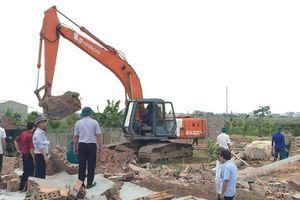 Vĩnh Phúc: Vĩnh Tường xử lý vi phạm Luật Đất đai ở Chấn Hưng