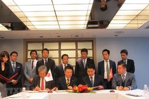 Japanese firms plan to pour 4 billion USD in Hanoi's projects