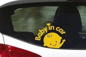 Những điều cần tránh khi có trẻ em trong xe hơi