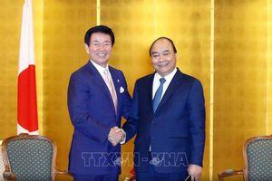 Thủ tướng Nguyễn Xuân Phúc tiếp Thống đốc tỉnh Chiba, Nhật Bản