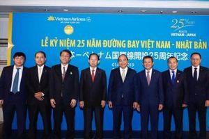 Vietnam Airlines kỷ niệm 25 năm thiết lập đường bay Việt Nam - Nhật Bản