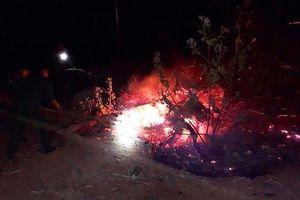 Liên tiếp cháy rừng ở Bình Định, người dân gồng mình dập lửa trong đêm