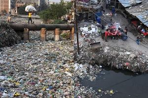 Nghạt thở trước cuộc sống trong 'địa ngục rác thải' ở Ấn Độ