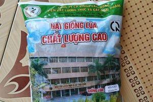 Sai phạm của Cty CP Giống cây trồng Viện Cây lương thực và Cây thực phẩm: Ông viện trưởng lên tiếng