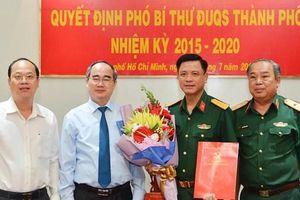 Chỉ định Phó Bí thư Đảng ủy quân sự TPHCM
