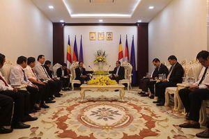 Cao-su Việt Nam góp phần phát triển kinh tế, xã hội Campuchia