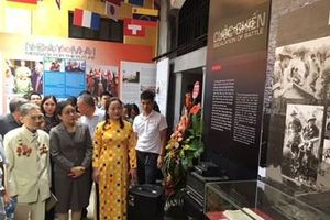Khai mạc trưng bày chuyên đề 'Nhật ký hòa bình'