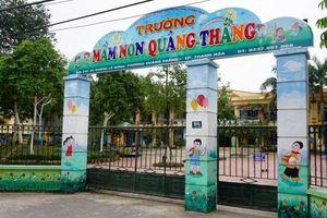 TP.Thanh Hóa: Ăn bớt 1.746 khẩu phần, hiệu trưởng trường mầm non Quảng Thắng bị cách chức