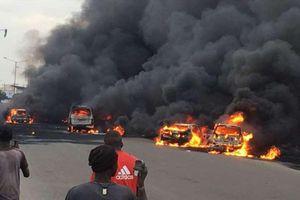 Nigeria: Xe bồn phát nổ ít nhất 50 người thiệt mạng