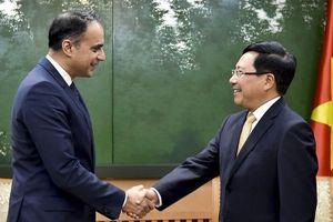 Phó Thủ tướng Phạm Bình Minh tiếp Phó Chủ tịch ADB Ahmed Saeed