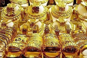 Giá vàng tràn ngập sắc đỏ toàn thị trường