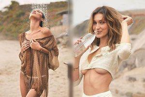 Bella Hadid eo thon gợi tình đầy quyến rũ trên biển