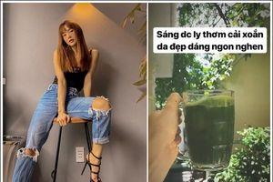 Bí kíp giữ dáng đẹp, da căng mướt như gái 18 của dàn Sao Việt
