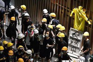 Giới chức Hong Kong lên án hành động phá hoại và biểu tình bạo lực