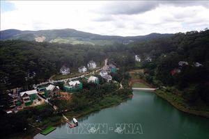 Kiên quyết đập bỏ công trình sai phạm trong Khu Du lịch quốc gia hồ Tuyền Lâm