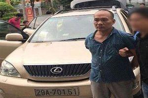Bắc Giang: Tổng Giám đốc công ty bất động sản đi xe Lexus bị nghi trộm cắp tài sản