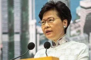 Trưởng Đặc khu Hong Kong chỉ trích biểu tình