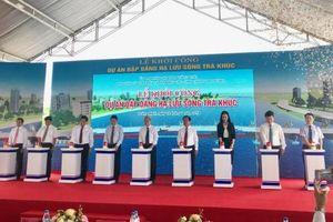 Khởi công dự án đập dâng hạ lưu sông Trà Khúc 1.498 tỷ đồng