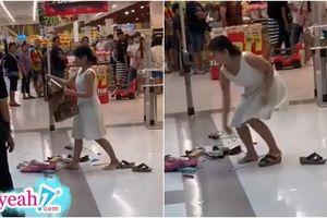 Được yêu cầu kiểm tra túi xách vì chuông báo trộm reo, nữ khách hàng bất ngờ nổi cơn thịnh nộ giữa siêu thị