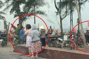 Thanh Hóa: Sầm Sơn ra quân xử lý tình trạng bán hải sản kém chất lượng trên bãi biển
