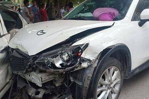 Hà Nội: Danh tính tài xế Mazda CX5 gây tai nạn liên hoàn ở Thanh Trì