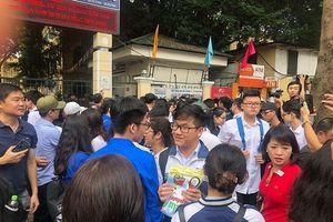 Không thu tiền, không bán hồ sơ trong thời gian nhập học lớp 10 ở Hà Nội