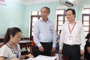 Sở GD&ĐT Hà Giang báo cáo công an về chọn nhân sự kỳ thi THPT quốc gia