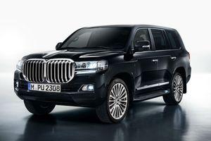 BMW sẽ chế tạo SUV hạng sang trên nền tảng Toyota Land Cruiser?
