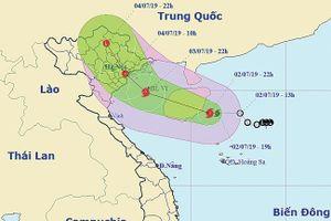 Bão MUN áp sát các tỉnh từ Quảng Ninh đến Ninh Bình