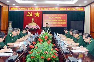 Hội nghị Đảng ủy Cơ quan Tổng cục Chính trị