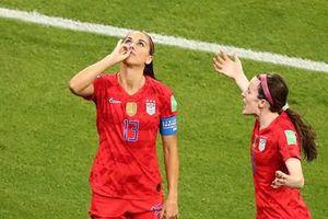 World Cup nữ 2019: Mỹ lần thứ 5 ghi tên mình vào chung kết