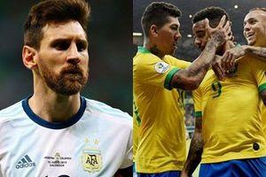 Argentina thua trận, Messi cay đắng nhìn Brazil vào chung kết Copa America