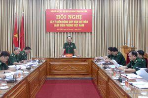 BĐBP Đắk Lắk: Đóng góp ý kiến vào dự thảo Luật Biên phòng Việt Nam