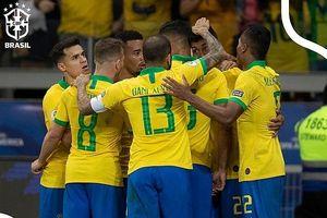 Đánh bại Argentina, Brazil vào chung kết Copa America