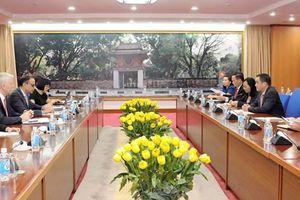 ADB cam kết sẽ tiếp tục hợp tác với Bộ Tài chính trong lĩnh vực tài chính