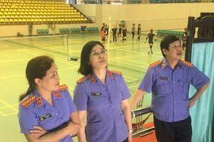 Gấp rút hoàn thiện công tác chuẩn bị giải thể thao ngành Kiểm sát nhân dân lần thứ IX