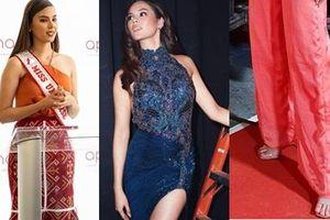Hết vía với thời trang đã lôi thôi còn sến sẩm, tố cáo hình thể kém hoàn hảo của Hoa hậu Hoàn vũ 2018