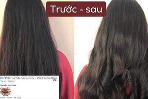 Con gái 15 tuổi của MC Quyền Linh trổ tài làm tóc cho bạn, bất ngờ nhất chính là phản ứng từ nghệ sĩ Hồng Vân