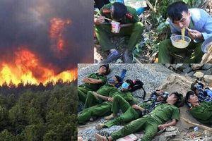 Những chuyện chưa kể về 72 giờ lao vào biển lửa cứu rừng già đầu nguồn
