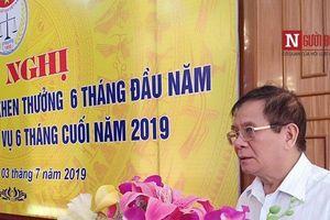 Hội nghị sơ kết phong trào thi đua 6 tháng đầu năm 2019 cụm thi đua các tỉnh Đồng bằng Bắc bộ và Bắc Miền Trung