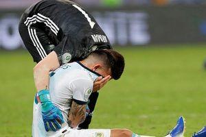 G.Jesus tiễn Lionel Messi về nước