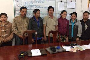 Đắk Lắk: Triệt phá 'ổ lô đề', thu giữ hàng trăm triệu đồng