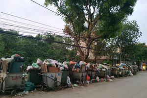 Hà Nội lại ngập rác khi bãi rác Nam Sơn thất thủ?