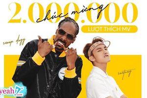 'Hãy trao cho anh' trở thành MV đầu tiên và duy nhất đạt 2 triệu likes của Vpop
