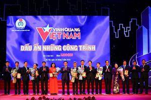 Tôn vinh 19 tập thể, cá nhân trong chương trình 'Vinh quang Việt Nam' lần thứ XV