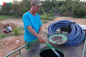 Người dân Phú Yên phải mua nước giếng đắt gấp 10 lần nước máy