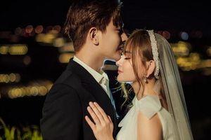 Thu Thủy rạng rỡ, xinh đẹp trong bộ ảnh cưới giản dị với chồng kém tuổi
