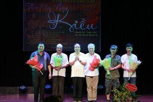 'Thân phận nàng Kiều' trên sân khấu múa rối